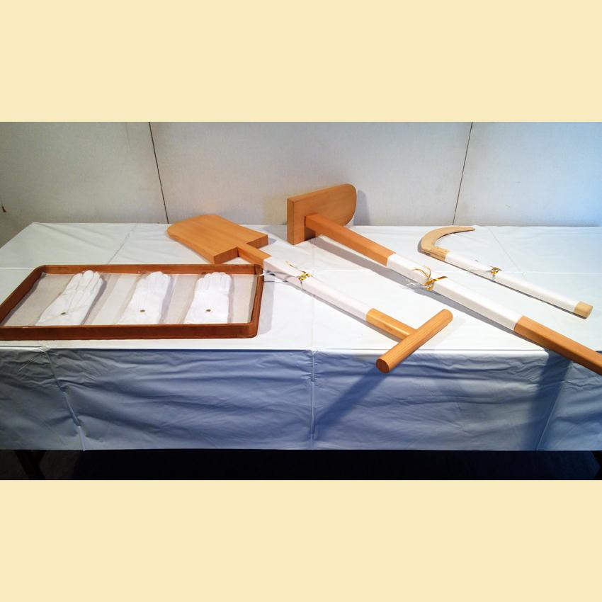 鋤・鍬・鎌 (別途白手袋)