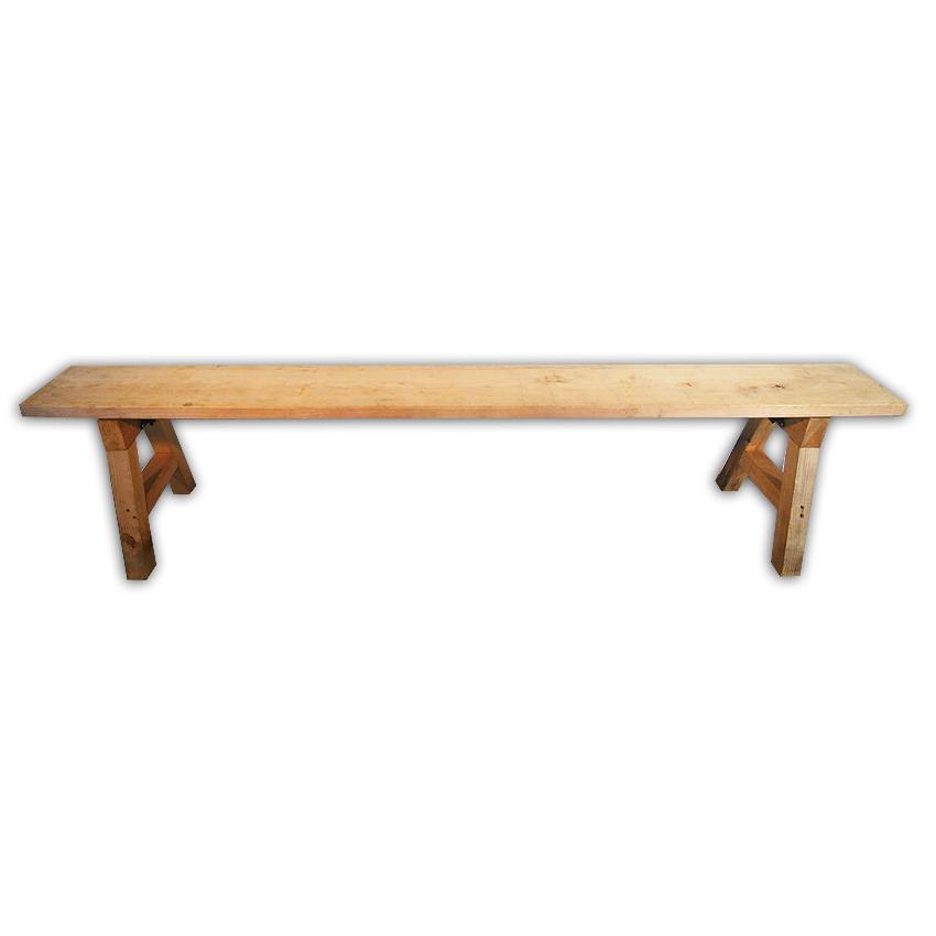 木製ベンチ/折畳み式