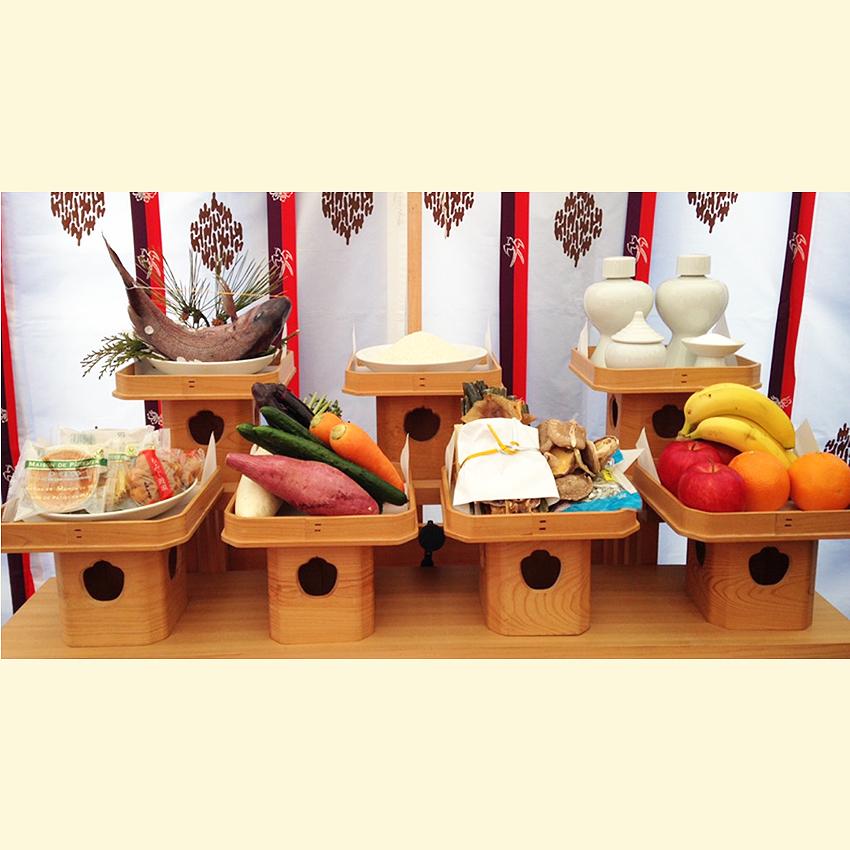 神饌 (式典時:お供え例)