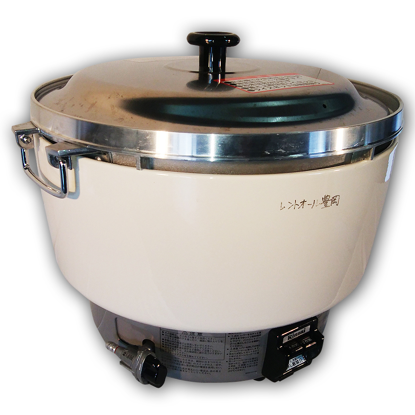 ガス炊飯器:5升