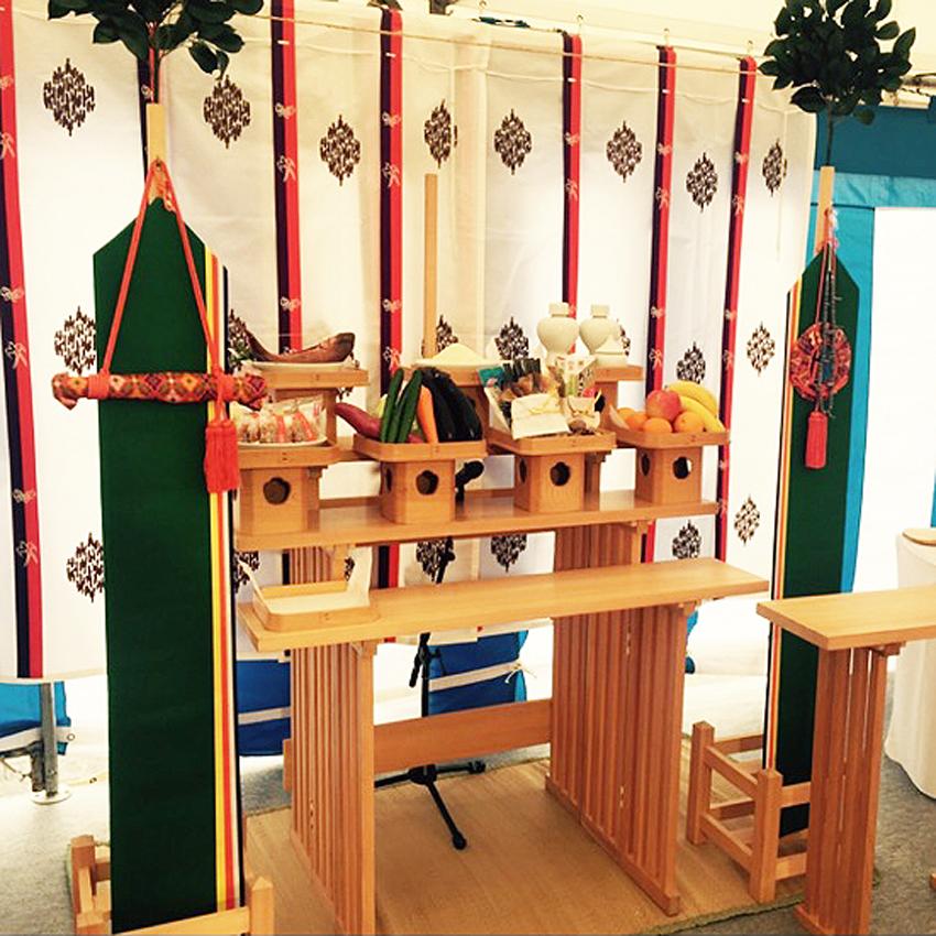 式典時祭壇セット