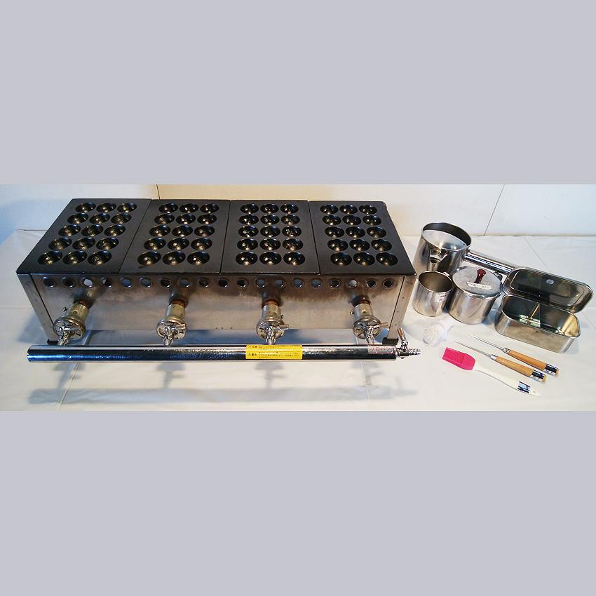たこ焼き機/60穴:700×250×200